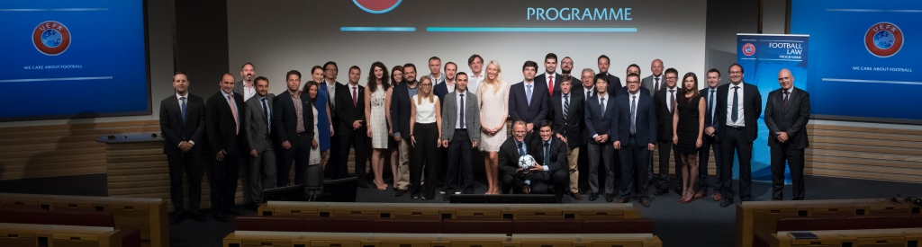 UEFA Football Law Programme Graduation Ceremony