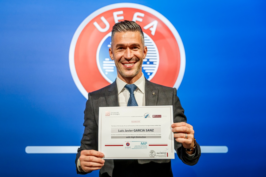 UEFA Graduation Ceremony of MIP ll at the auditorium of UEFA HQ